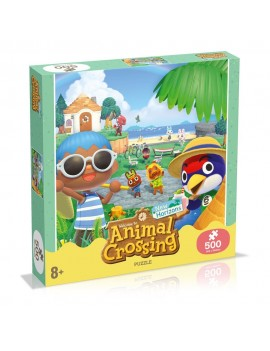 Animal Crossing New Horizons Jigsaw Puzzle Characters (500 pieces)