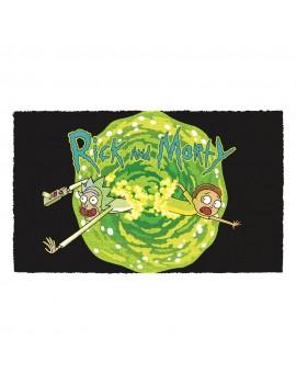 Rick & Morty Doormat Logo 40 x 60 cm