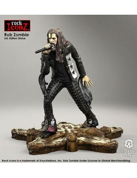 Rob Zombie Rock Iconz Statue 20 cm