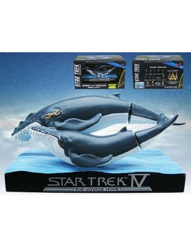 Star Trek IV The Voyage Home TOS Bobble-Head Whales & Spock Convention Exclusive 6 cm