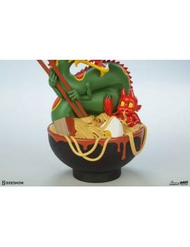 Unruly Designer Series Vinyl Statue Ramen Demon by Levi Prewitt 23 cm