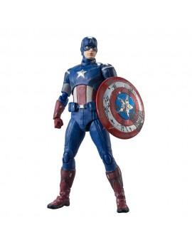 Avengers S.H. Figuarts Action Figure Captain America (Avengers Assemble Edition) 15 cm