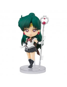 Sailor Moon Eternal Figuarts mini Action Figure Super Sailor Pluto (Eternal Edition) 9 cm
