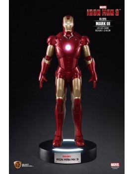 Iron Man 3 Life-Size Statue Iron Man Mark III 210 cm
