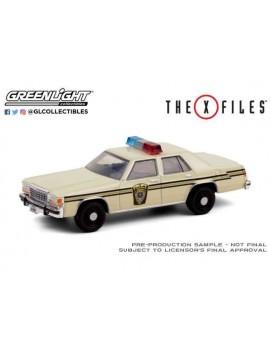 X-Files Diecast Model 1/64 1983 Ford LTD Crown Victoria Lardis MD Police