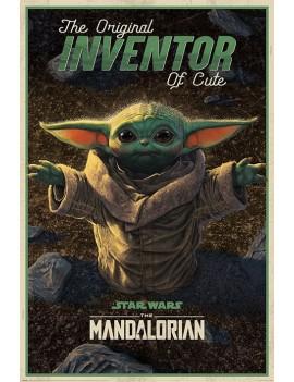 Star Wars The Mandalorian Poster Pack The Original Inventor of Cute 61 x 91 cm (5)