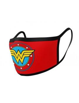 Wonder Woman Face Masks 2-Pack Logo
