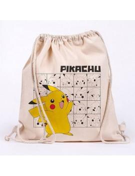 Pokémon Draw String Bag Pikachu