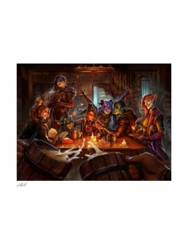 Critical Role Art Print The Mighty Nein: This is How We Roll! 46 x 57 cm - unframed
