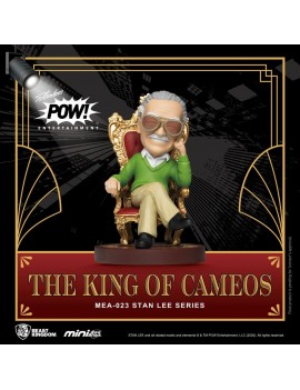 Stan Lee Mini Egg Attack Action Figure Stan Lee The King of Cameos 8 cm