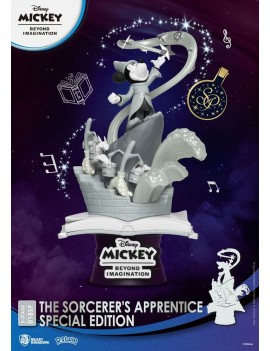 Mickey Beyond Imagination D-Stage PVC Diorama The Sorcerer's Apprentice Special Edition 15 cm