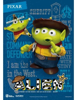 Toy Story Dynamic 8ction Heroes Action Figure Alien Remix Woody 16 cm