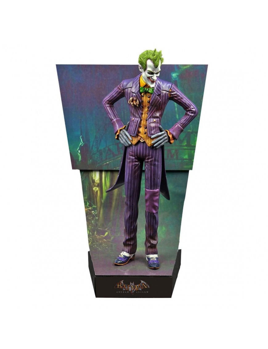 Batman Arkham Asylum Premium Motion Statue The Joker 25 cm