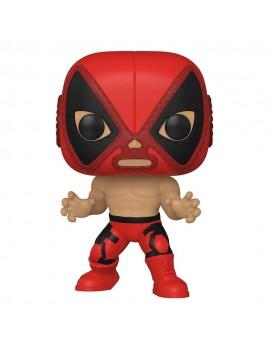 Marvel Luchadores POP! Vinyl Figure Deadpool 9 cm