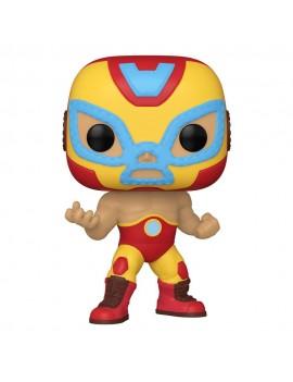 Marvel Luchadores POP! Vinyl Figure Iron Man 9 cm