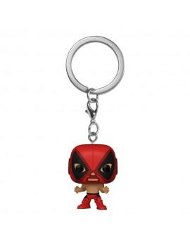 Marvel Luchadores Pocket POP! Vinyl Keychains 4 cm Deadpool Display (12)