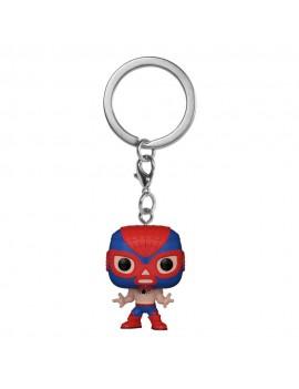 Marvel Luchadores Pocket POP! Vinyl Keychains 4 cm Spider-Man Display (12)