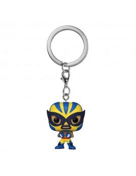 Marvel Luchadores Pocket POP! Vinyl Keychains 4 cm Wolverine Display (12)