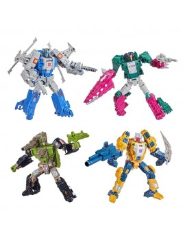Transformers Generations Deluxe Retro Headmasters Action Figures 2021 Assortment (4)