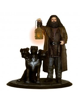 Harry Potter Premium Motion Statue Hagrid & Fluffy 25 cm