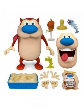 The Ren & Stimpy Show Deluxe Action Figure Stimpy 18 cm