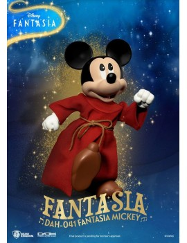 Disney Classic Dynamic 8ction Heroes Action Figure 1/9 Mickey Fantasia 21 cm