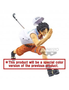 One Piece magazine PVC Statue Portgas D. Ace Special Color Version 13 cm