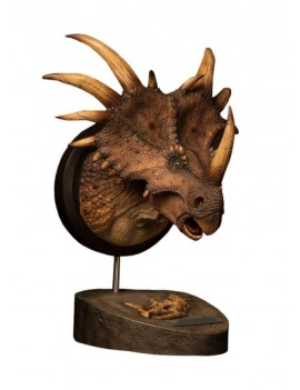Paleontology World Museum Collection Series Bust Styracosaurus Brown Ver. 27 cm