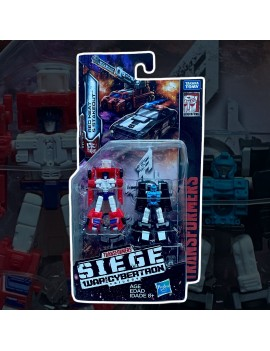 Transformers Generations Siege Red Heat e Stakeout