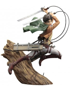 Attack on Titan ARTFX J Statue 1/8 Eren Yeager Renewal Package Ver. 26 cm