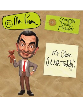 Mr. Bean Comedy Classic Vinyl Figure Mr. Bean (with Teddy) 18 cm