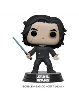 Star Wars Episode IX POP! Movies Vinyl Figure Ben Solo w/Blue Saber 9 cm
