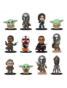 Star Wars: The Mandalorian Mystery Mini Figures 5 cm Display S1 (12)