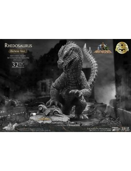 The Beast from 20,000 Fathoms Soft Vinyl Statue Ray Harryhausens Rhedosaurus Monotone Deluxe Ver.