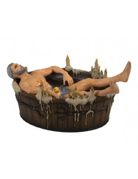 The Witcher 3 Wild Hunt Statue Geralt in the Bath 9 cm