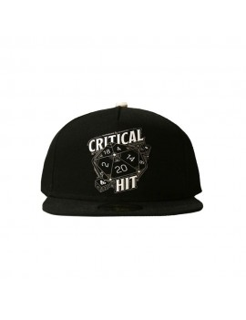 Dungeon & Dragons Snapback Cap Critical Hit