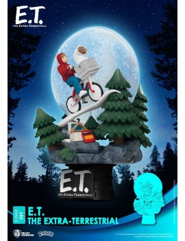 E.T. the Extra-Terrestrial D-Stage PVC Diorama Iconic Scene Movie Scene 15 cm