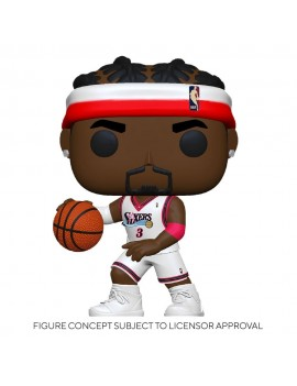 NBA Legends POP! Sports Vinyl Figure Allen Iverson (Sixers Home) 9 cm