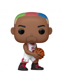 NBA Legends POP! Sports Vinyl Figure Dennis Rodman (Bulls Home) 9 cm
