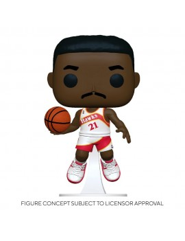 NBA Legends POP! Sports Vinyl Figure Dominique Wilkins (Hawks Home) 9 cm