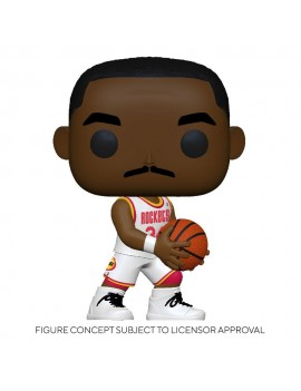 NBA Legends POP! Sports Vinyl Figure Hakeem Olajuwon (Rockets Home) 9 cm