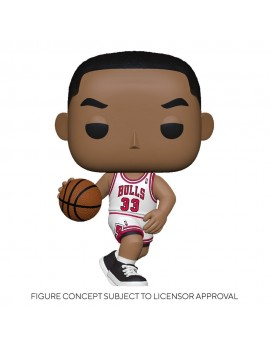 NBA Legends POP! Sports Vinyl Figure Scottie Pippen (Bulls Home) 9 cm