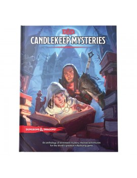 Dungeons & Dragons RPG Adventure Candlekeep Mysteries english