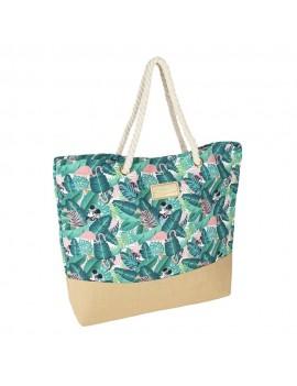 Minnie Mouse Beach Bag Tropical