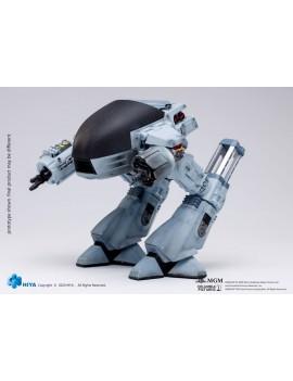 Robocop Exquisite Mini Action Figure with Sound Feature 1/18 Battle Damaged ED209 15 cm