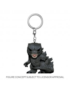 Godzilla Vs Kong Pocket POP! Vinyl Keychains 4 cm Godzilla Display (12)
