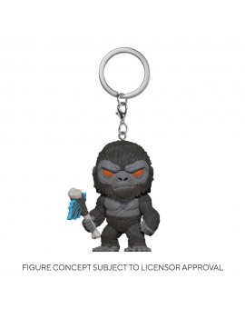 Godzilla Vs Kong Pocket POP! Vinyl Keychains 4 cm King Kong with Axe Display (12)