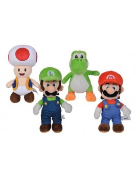 Super Mario Plush Figures All Stars 20 cm Assortment (12)