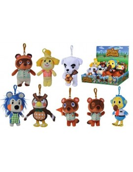Animal Crossing Plush Keychains Residents 15 cm Assortment (12)