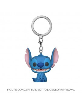 Lilo & Stitch Pocket POP! Vinyl Keychains 4 cm Stitch Display (12)